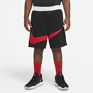 Nike Elite Grafikli Genç Çocuk (Erkek) Basketbol Şortu (Büyük Beden)