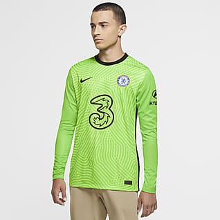 Chelsea FC 2020/21 Stadium Goalkeeper Herren-Fußballtrikot