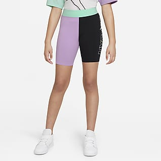 Jordan Shorts de ciclismo de cintura alta para niñas talla grande
