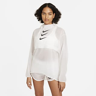 Nike Run Division เสื้อแจ็คเก็ตวิ่งผู้หญิงพับเก็บได้