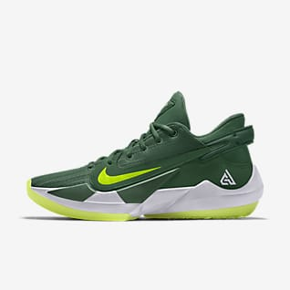 Zoom Freak 2 Nike By You Personalisierbarer Basketballschuh