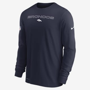 Nike Dri-FIT Sideline Team Issue (NFL Denver Broncos) Men's Long-Sleeve T-Shirt