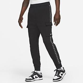 Nike Sportswear Cargobukser i fleece til mænd