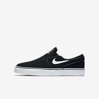 Nike SB Stefan Janoski Canvas Slip-on Skateboardová bota pro větší děti