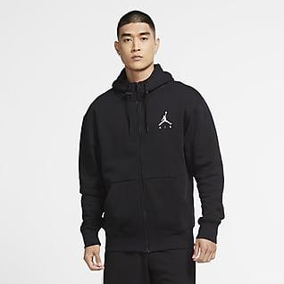 Jordan Jumpman Air Fleecehættetrøje med lynlås til mænd