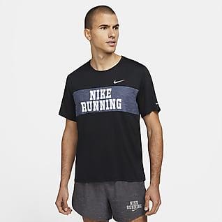 Nike Dri-FIT Miler Heritage Camiseta de running de manga corta para hombre