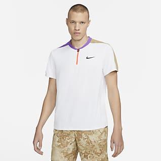 NikeCourt Breathe Slam Erkek Tenis Polo Üstü