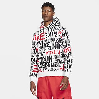 Nike Sportswear Club Kapucnis, belebujós férfipulóver