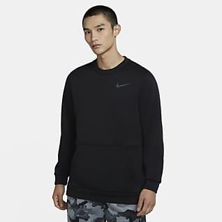 Nike Therma เสื้อเทรนนิ่งคอกลมผู้ชาย