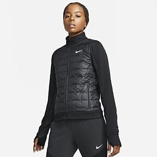 Nike Therma-FIT Женская беговая куртка с синтетическим наполнителем