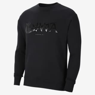 Liverpool FC Men's Fleece Crew Sweatshirt