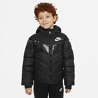 Nike Little Kids' Color-Block Puffer Jacket