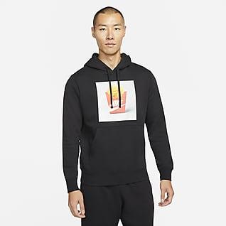 Nike Sportswear 男款刷毛套頭連帽上衣