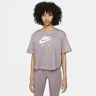 Nike Air Women's Mesh Short-Sleeve Top