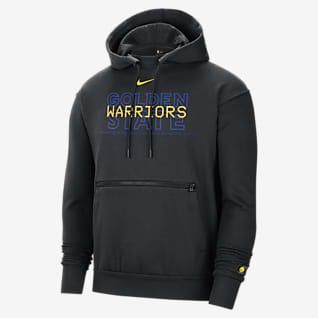 Warriors Courtside Men's Nike NBA Pullover Hoodie