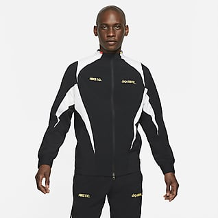 Nike F.C. Casaco de futebol entrançado para homem