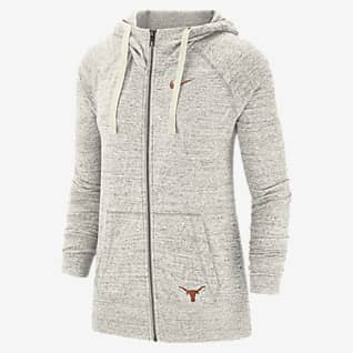 Nike College Gym Vintage (Texas) Women's Full-Zip Hoodie