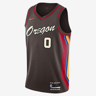 Portland Trail Blazers City Edition Nike NBA Swingman Trikot