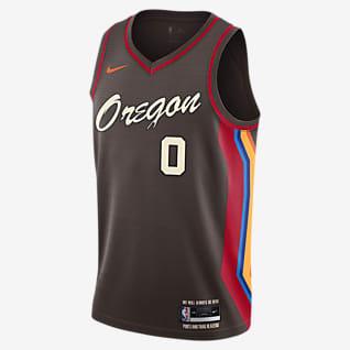 Portland Trail Blazers City Edition Nike NBA Swingman Trikot