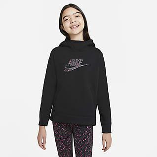 Nike Sportswear Hettejakke til store barn (jente)