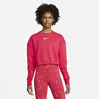 Nike Sportswear Sweatshirt van fleece voor dames