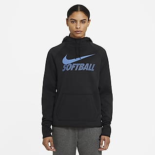 Nike Therma Sudadera con capucha de softball para mujer