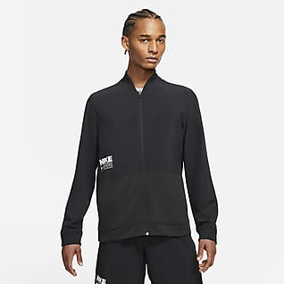 Nike Dri-FIT เสื้อแจ็คเก็ตเทรนนิ่งผู้ชาย