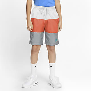 Nike Sportswear Big Kids' (Boys') Woven Shorts