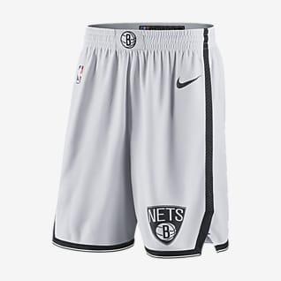 Бруклин Нетс Мужские шорты Nike НБА Swingman