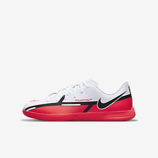 Nike Jr. Phantom GT2 Club IC Fußballschuh für Hallen- und Hartplätze für jüngere/ältere Kinder