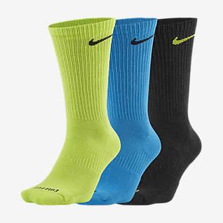 Nike Everyday Plus Cushioned Calcetines largos de entrenamiento (3 pares)
