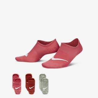 Nike Everyday Plus Lightweight Vristhöga träningsstrumpor för kvinnor (3 par)