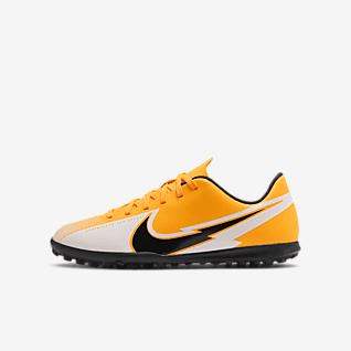 Nike Jr. Mercurial Vapor 13 Club TF Футбольные бутсы для игры на синтетическом покрытии для дошкольников/школьников