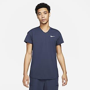 NikeCourt Breathe Slam Tenniströja för män