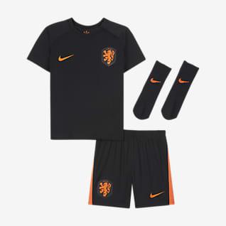 Выездная форма сборной Нидерландов 2020 Футбольный комплект для малышей