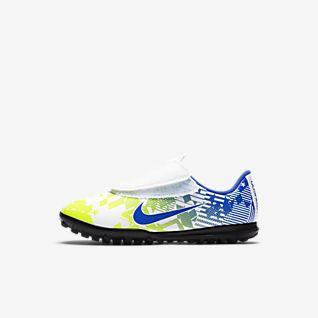 Nike Jr. Mercurial Vapor 13 Club Neymar Jr. TF Fotbollssko för grus/turf för förskolebarn