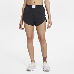 Nike Dri-FIT Retro Løbeshorts med indershorts til kvinder