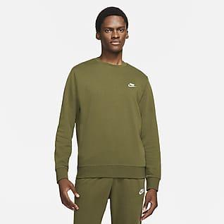 Nike Sportswear Club Pánská mikina z francouzského froté s kulatým výstřihem