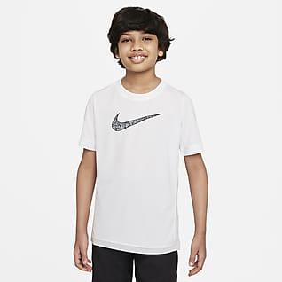 Nike Dri-FIT Trophy Older Kids' (Boys') Graphic Training Top