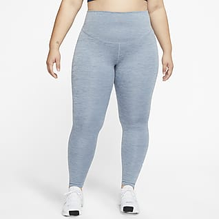 NikeOne Legging taille mi-haute pour Femme (grande taille)