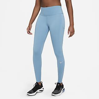 Nike Epic Luxe เลกกิ้งวิ่งเอวปานกลางผู้หญิง