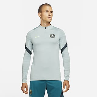 Club América Strike Camiseta de entrenamiento de fútbol para hombre