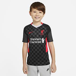 Liverpool FC 2020/21 Stadyum Üçüncü Genç Çocuk Futbol Forması