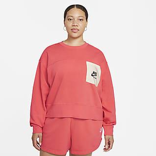 Nike Sportswear Heritage Women's Easy Fleece Crew (Plus Size)