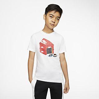 New Boys Grey T-Shirt Skateboard Theme Long Sleeve Ages 5-14 Free P+P