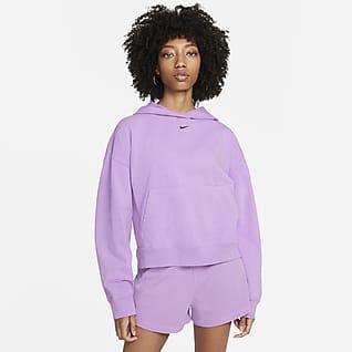 Nike Sportswear Sudadera con gorro lavada para mujer