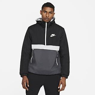 Nike Sportswear Synthetic-Fill Men's 1/2-Zip Hooded Jacket