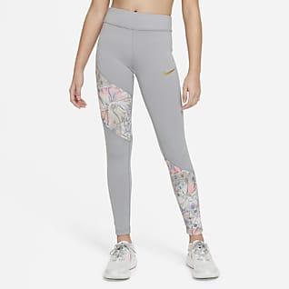 Nike Dri-FIT One Big Kids' (Girls') Leggings