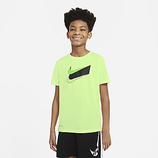 Nike Dri-FIT เสื้อยืดเทรนนิ่งเด็กโต (ชาย)