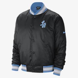 Los Angeles Lakers City Edition Courtside Men's Nike NBA Jacket